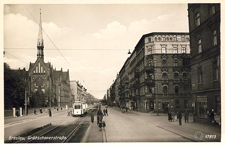 Ul. Grabiszyńska przed wojną